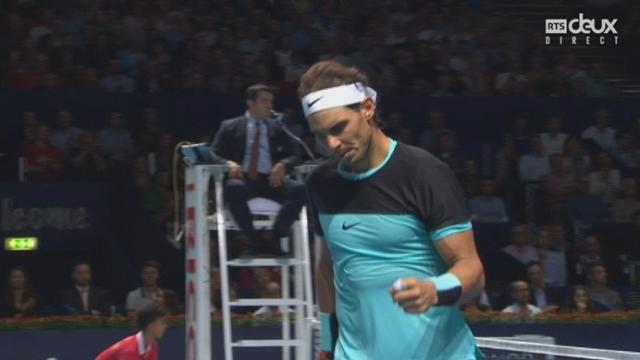 Rafael Nadal - Richard Gasquet (6-4, 5-5): Richard Gasquet offre le break et relance le match [RTS]