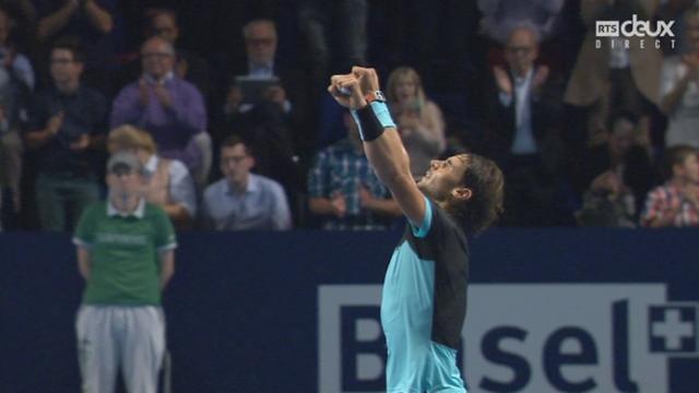 Rafael Nadal - Richard Gasquet (6-4, 7-6): l'Espagnol se qualifie pour la finale du tournoi de Bâle [RTS]