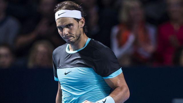 Nadal n'avait jamais dépassé les quarts de finale à Bâle avant cette année. [Dominic Steinmann - Keystone]