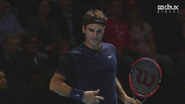 1-2 finale, Roger Federer – Jack Sock (6-3 2-1): Le Suisse refait le break dans ce 2e set [RTS]