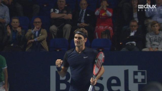 1-2 finale, Roger Federer – Jack Sock (6-3 6-2): Sans surprise Roger Federer rencontrera Rafael Nadal pour la final [RTS]