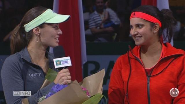 Tennis - Singapour: Martina Hingis a remporté son troisième Masters de double [RTS]