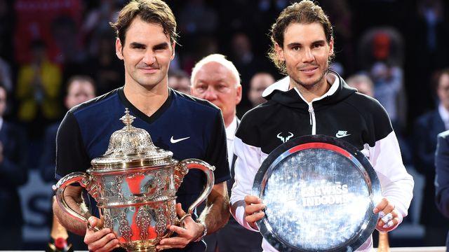 Federer a signé sa première victoire en trois ans et demi face à Nadal. [Melanie Duchene - EQ]