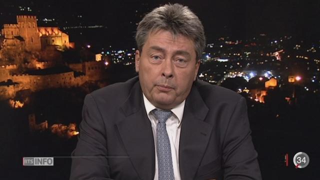 Élections Valais: les précisions d'Alexandre Bochatay, depuis Sion [RTS]