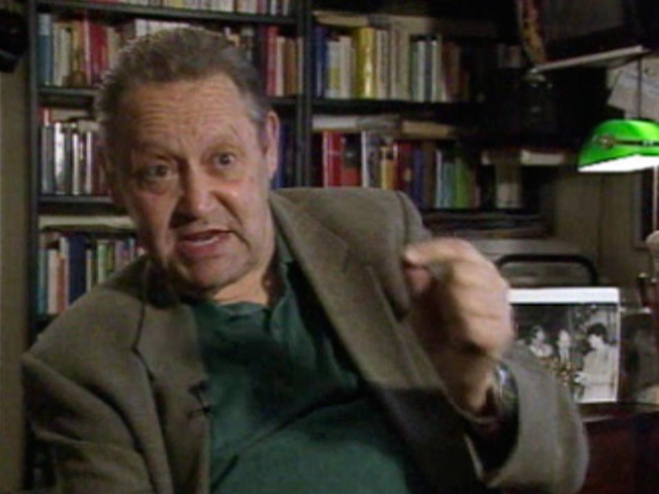 Guenter Schabowski en 1999. [RTS]