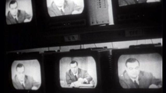 Les débuts de la télévision au service de la politique.