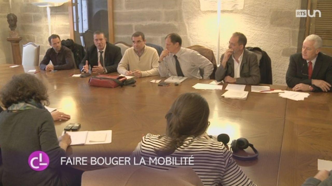 GE: la commission des transports présente son projet [RTS]