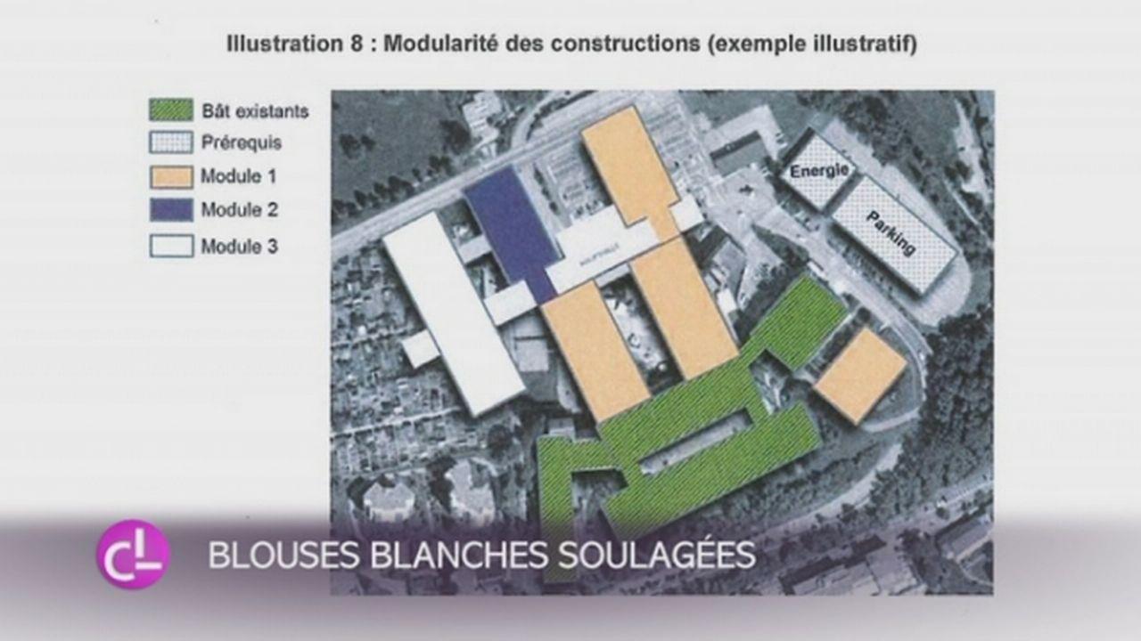 Hôpital fribourgeois: la concentration des soins est suspendue [RTS]