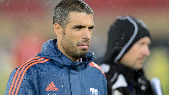L'entraineur du FC Lausanne-Sport Fabio Celestini. [Laurent Gillieron - Keystone]