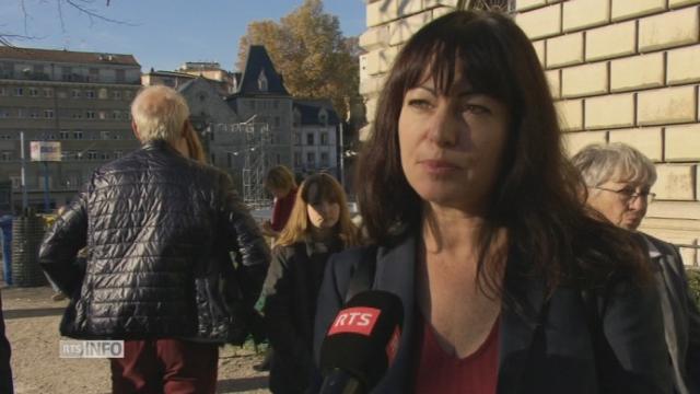 Géraldine Savary espère pouvoir bien collaborer avec Olivier Francais [RTS]