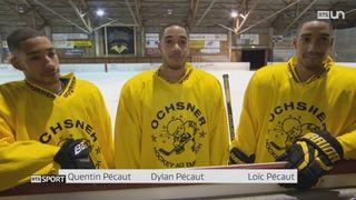 Le Mag: des triplés jouent ensemble au Hockey-Club de Saint-Imier [RTS]