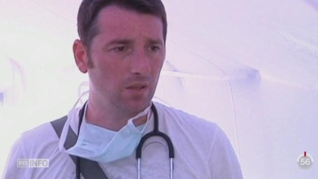 Serbie: des médecins ont monté une petite unité médicale pour porter assistance aux nombreux migrants [RTS]