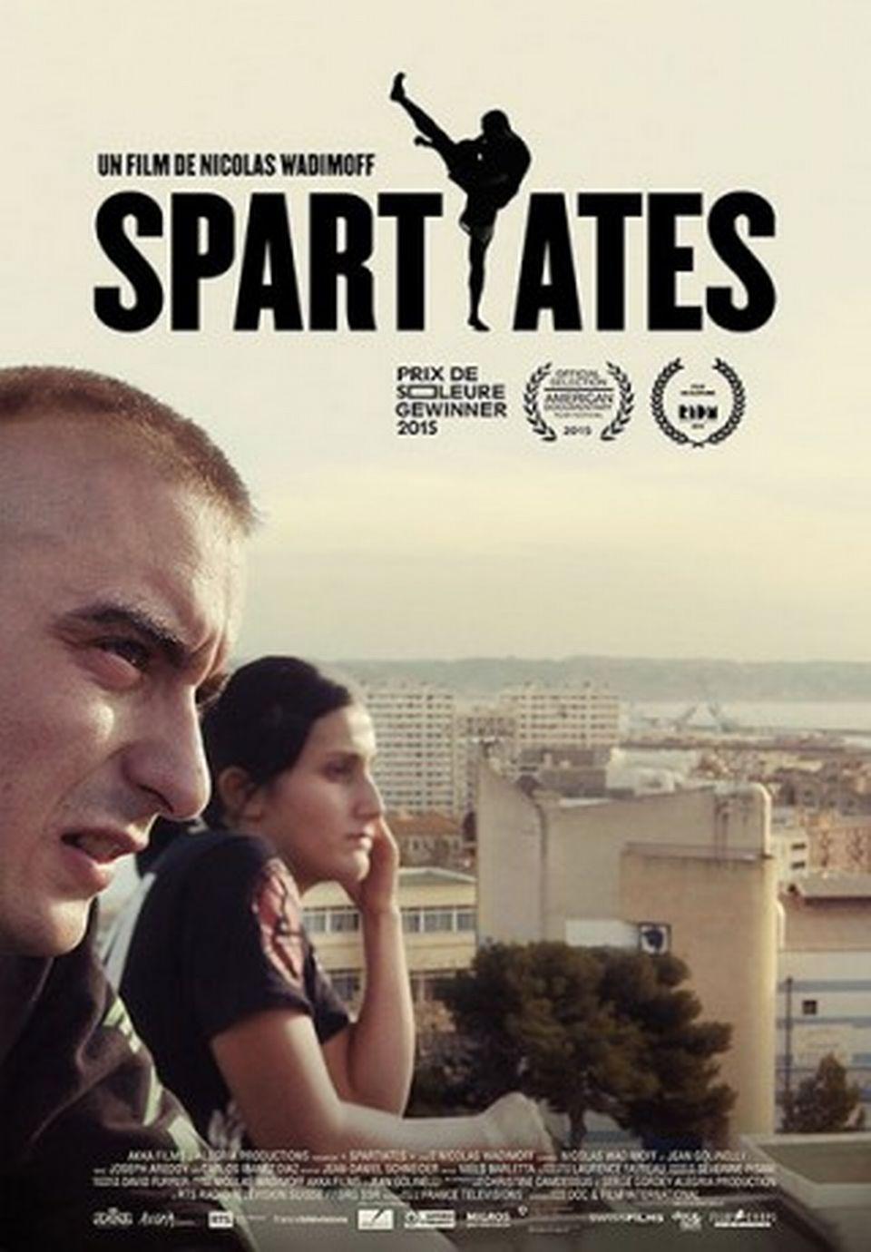 "L'affiche du film ""Spartiates"" de Nicolas Wadimoff. [akkafilms.ch]"