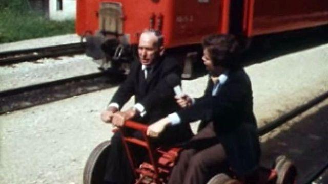 Histoire de la ligne Yverdon - Sainte-Croix avec plusieurs interviews.