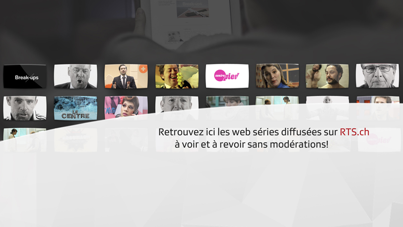 RTS web séries