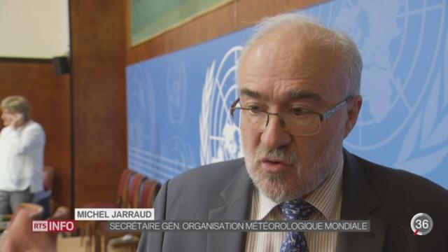 Changement climatique: le dernier rapport de l'ONU est un véritable cri d'alarme pour la planète [RTS]