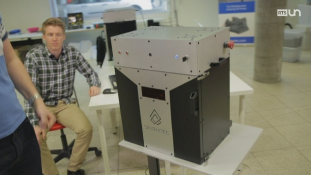 Inventer demain: l'imprimante 3D [RTS]