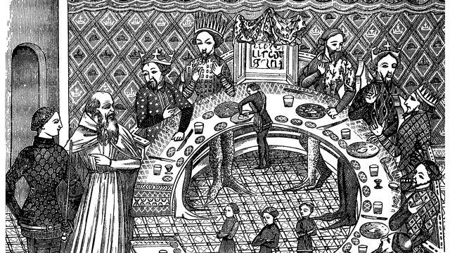 Les chevaliers de la table ronde [© Erica Guilane Nachez]
