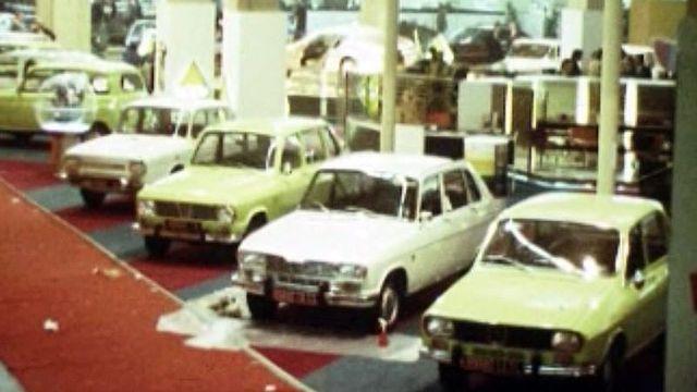 Le quarante et unième Salon de l'automobile ouvre ses portes.