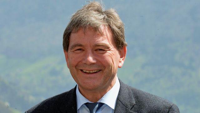 Le conseiller d'Etat Res Schmid (UDC-NW). [Urs Flueeler - Keystone]