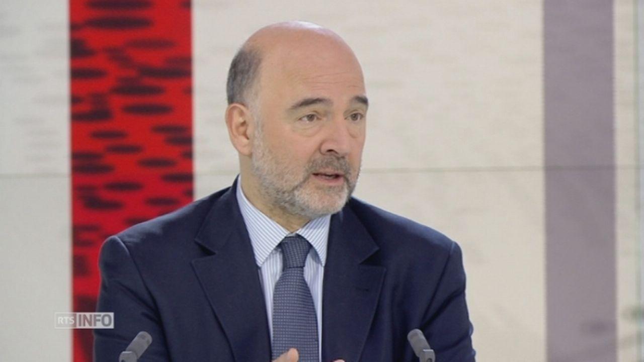 """""""Non, l'Europe n'est pas menacée d'envahissement"""", assure Pierre Moscovici [RTS]"""