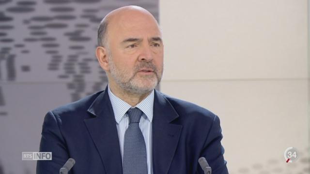 Migration: Pierre Moscovici estime que l'Europe n'est pas en danger [RTS]