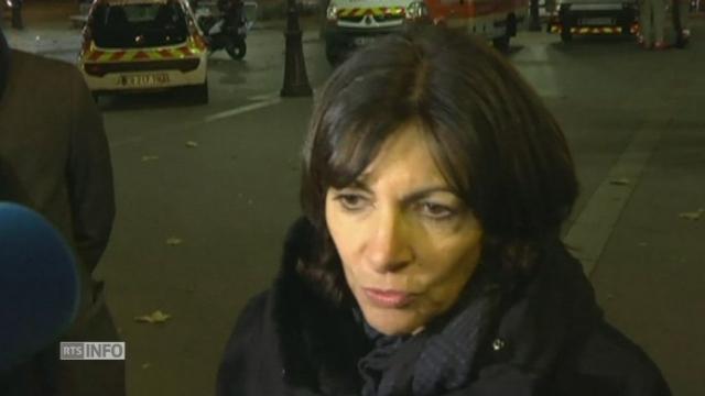 """Anne Hildalgo: """"Paris est à nouveau en deuil"""" [RTS]"""