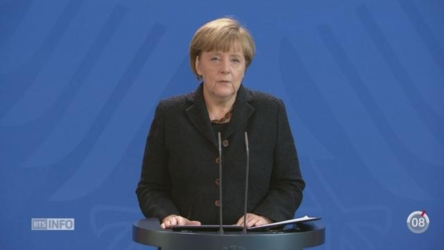 Attentats de Paris: Barack Obama et Angela Merkel ont exprimé leur soutien [RTS]