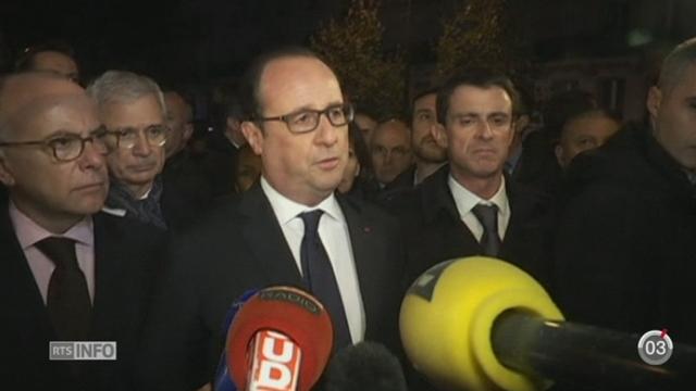 Attentats de Paris: le président déclare l'état d'urgence [RTS]