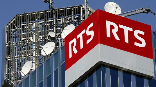 Tour de la RTS à Genève. [Salvatore Di Nolfi - Keytone]