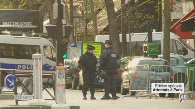 Attentats de Paris - Enquête: une course contre la montre est engagée [RTS]