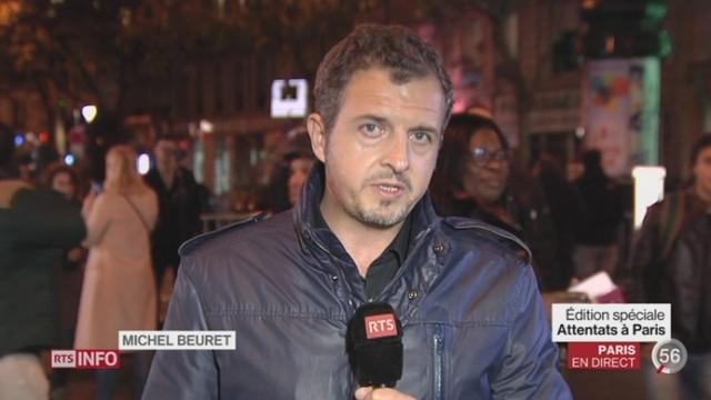 Attentats de Paris: les précisions de Michel Beuret depuis Paris [RTS]