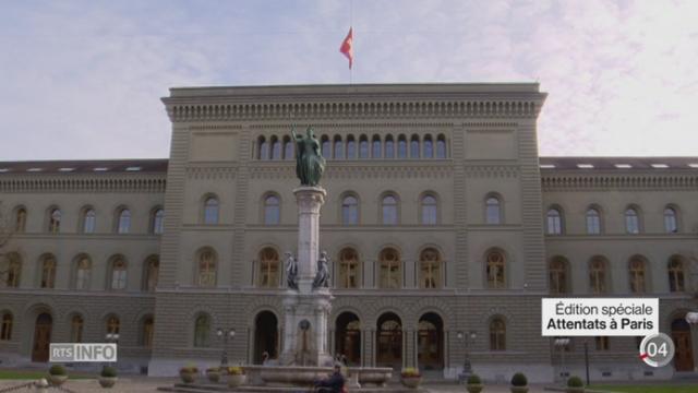 Attentats de Paris: la Suisse a annoncé de nouvelles mesures de sécurité [RTS]