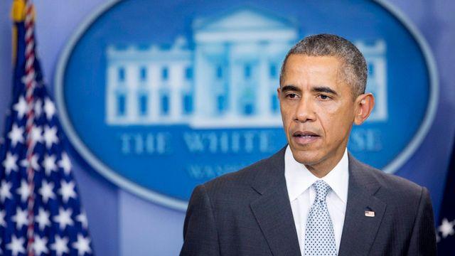 Barack Obama. [Andrew Harrer - Pool/EPA/Keystone]