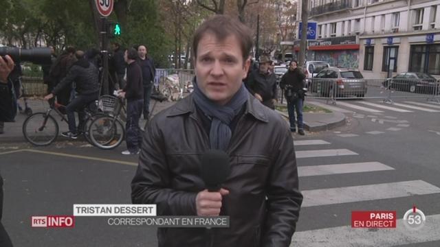 Tristan Dessert, correspondant à Paris [RTS]
