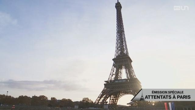 Paris meurtrie [RTS]