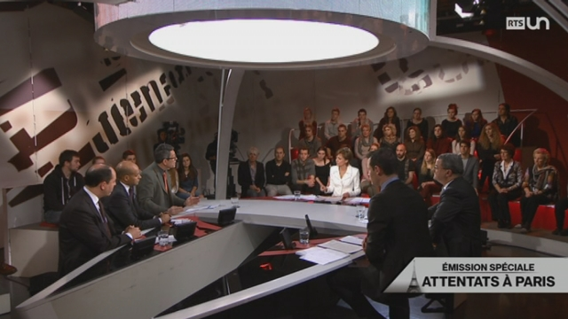 Emission spéciale: attentats à Paris [RTS]