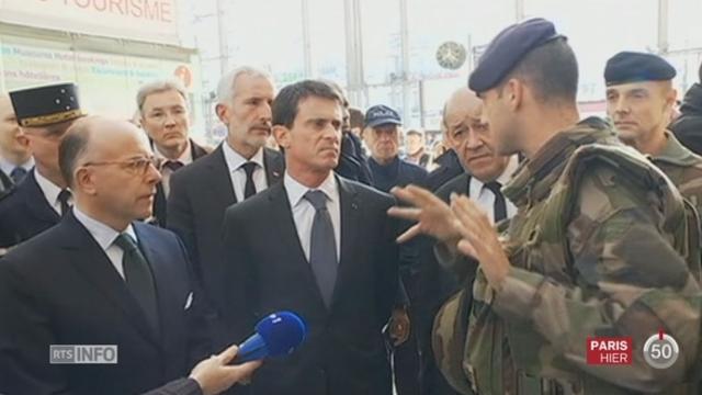 Attentats de Paris: l'enquête se poursuit, principalement en France et en Belgique [RTS]