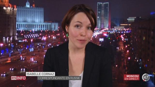 Terrorisme - Alliances: les explications d'Isabelle Cornaz depuis Moscou [RTS]