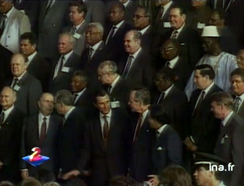 Sommet de la Terre à Rio en 1992. [INA]