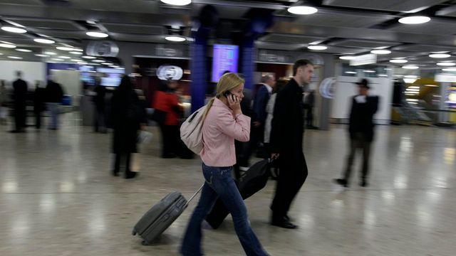 La surveillance a été accrue à l'aéroport de Genève. [Salvatore Di Nolfi - Keystone]