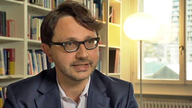 Marco Salvi, auteur de l'étude. [SRF]