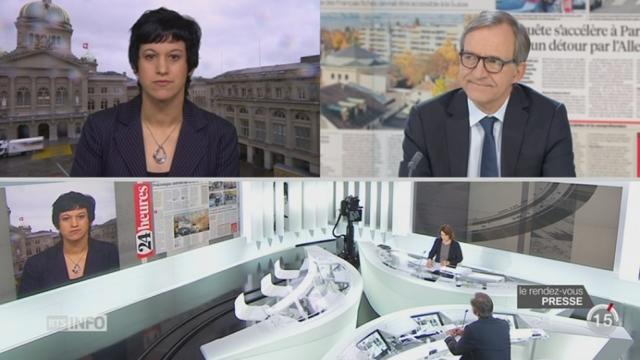 Le rendez-vous de la presse: l'Europe essaie de trouver une solution face au terrorisme [RTS]