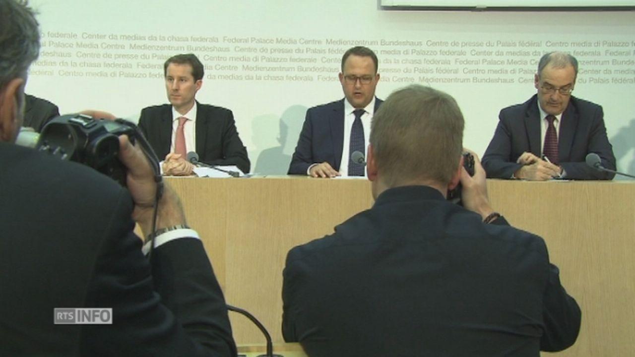 Réactions des candidats UDC au Conseil fédéral recueillies par la RTS [RTS]