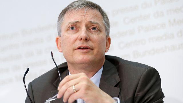 Le directeur du Service de renseignement de la Confédération (SRC), Markus Seiler. [Keystone]