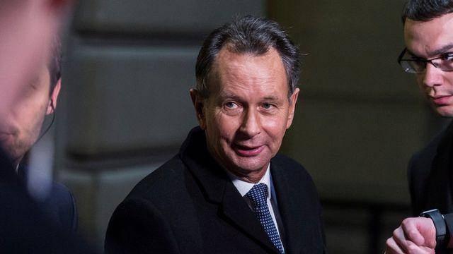 Le président du PLR Philipp Müller succède à la Chambre des cantons à sa collègue de parti Christine Egerszegi. [Alessandro Della valle - Keystone]