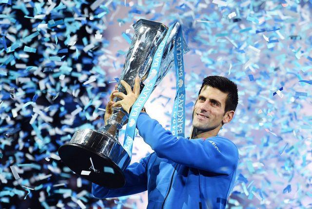 Novak Djokovic reste le roi des Maîtres, et ce pour la 4e année consécutive. [Andy Rain - Keystone]