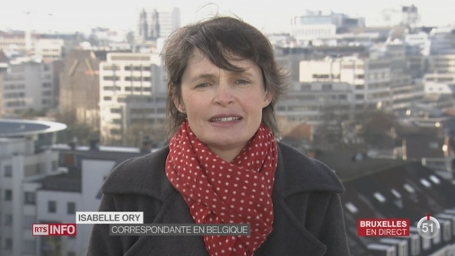 Menace terroriste: le point avec Isabelle Ory à Bruxelles