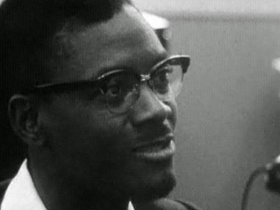 Patrice Lumumba en 1960. [RTS]