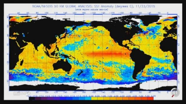 Climat: le phénomène El Nino atteint des records [RTS]